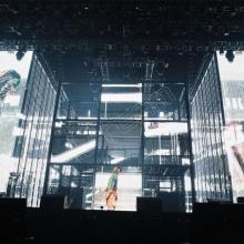 河南科视电子透明led显示屏产品p3.91