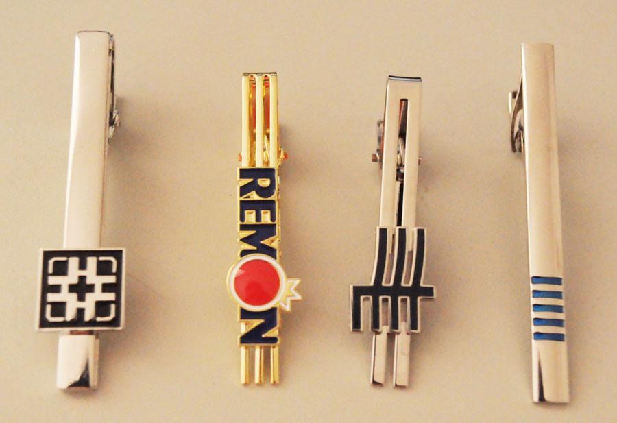 金属logo领带夹 订做男士商务正式领带夹 高端礼物定制中心