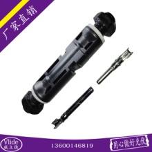华为逆变器专用安费诺直流面板线缆端MC4公母座插头光伏连接器批发