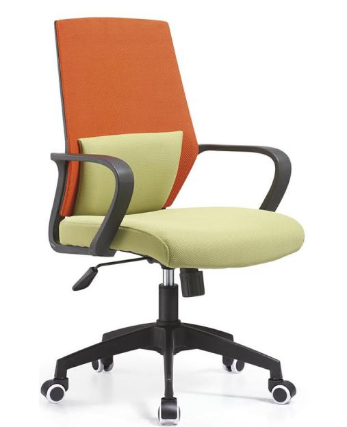 办公室椅子环保材质简约弓形职员椅员工椅转椅