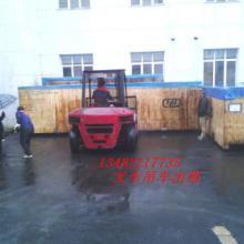 浦东金桥汽车吊出租金杨路10吨3吨叉车租赁设备装卸搬运图片