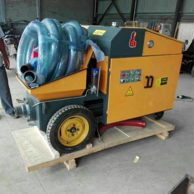 厂家直供卧式二次构造柱浇筑泵 小型混凝土砂浆输送泵出厂价格