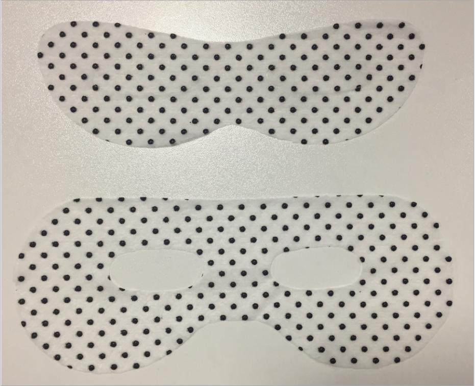 厂家直销眼膜生物磁眼膜布 形状可定制 天丝材质磁石眼膜基布