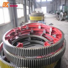 供应矿粉烘干机大齿轮型号价格图片