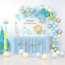 昆明花语花香气球造型气球布场气球造型气球装饰气球主题婚礼生日宴宝宝宴批发