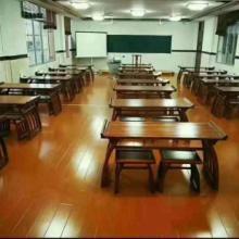 国民书法桌学校培训桌批发