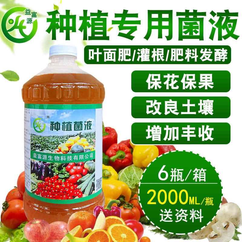 使用益富源种植专用菌液种植蔬菜的好处
