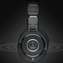 销售铁三角 ATH-M40X 录音K歌直播发烧降噪hifi音乐手机耳麦批发