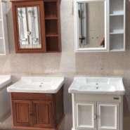 环保碳纤维80浴室柜厂价销售图片
