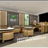 翠悦玉器珠宝展示柜安装完工效果图复古怀旧玉器展示柜定制厂家
