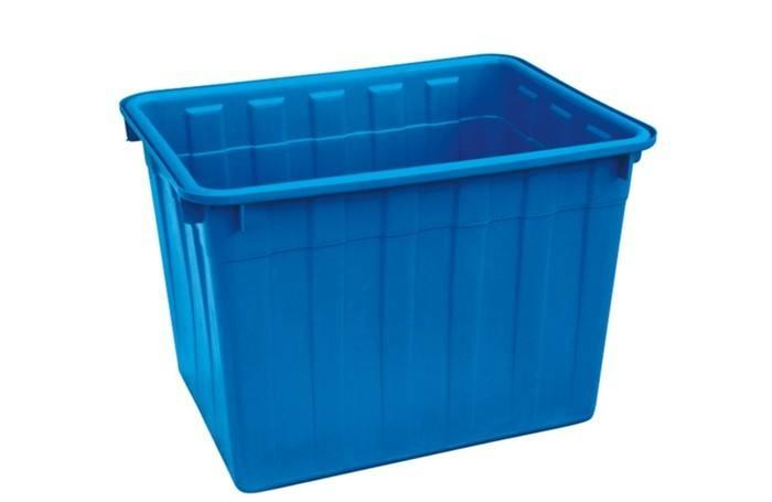 福建周转箱 纺织箱 塑料方箱 PE方形箱厂家