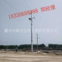 怒江 10kv电力钢杆价格