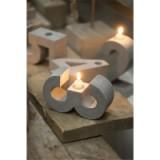 厂家热销 北欧水泥烛台混凝土软装饰家居原创意摆件