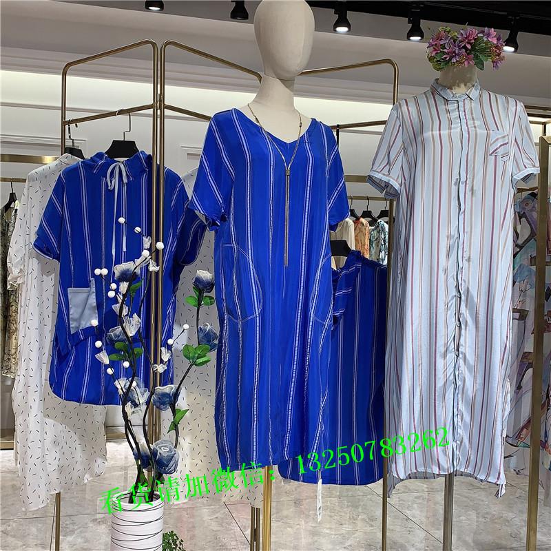 深圳一线高端设计师女装品牌『注释QOQO』四季货专柜撤柜库存尾货