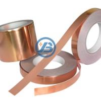 铜箔胶带 0.05mm耐高温铜箔胶带 单面带胶成型屏蔽导电胶带