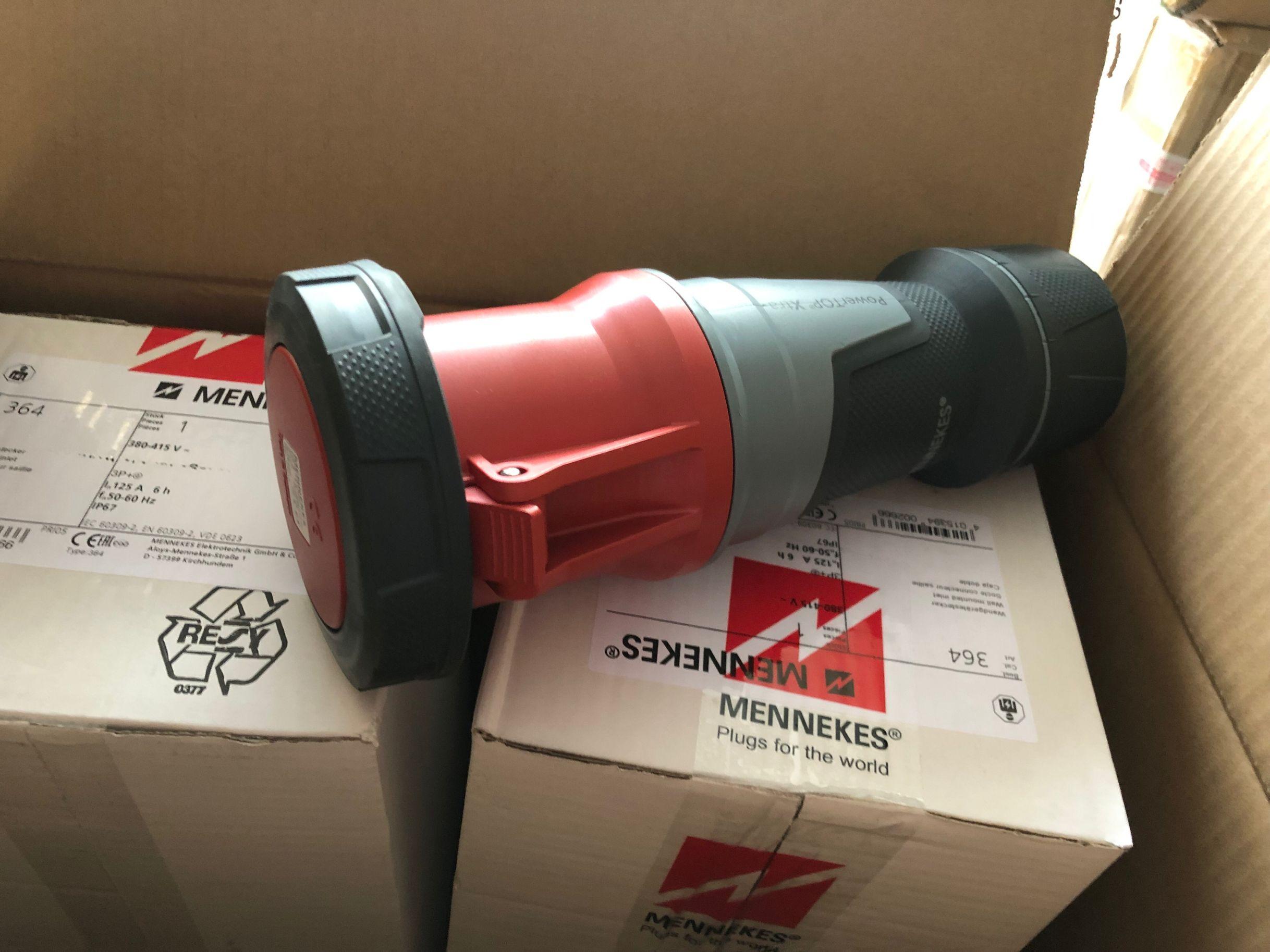 曼奈柯斯MENNEKES工业插座 供应工业插座曼奈柯斯附加插座1500#5P 斜插