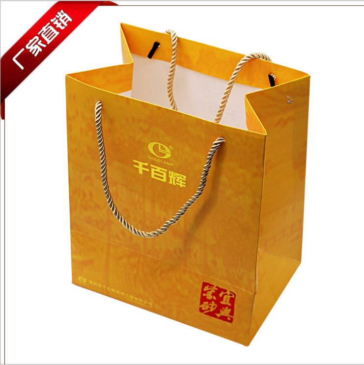 深圳通用服装纸袋定制_牛皮纸袋加工厂家