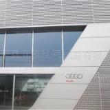 奥迪汽车4s店外墙冲孔长城铝板时尚前卫