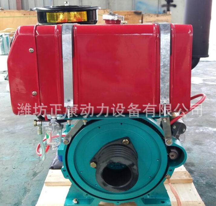 35马力拖拉机用柴油机 双缸ZH2110发动机 柴油发电机组小型发电机