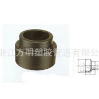 批发HDPE异径直通 塑料接头直通 化工塑胶管道 浙江塑胶管道