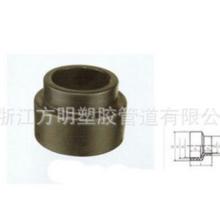 批发HDPE异径直通 塑料接头直通 化工塑胶管道 浙江塑胶管道批发