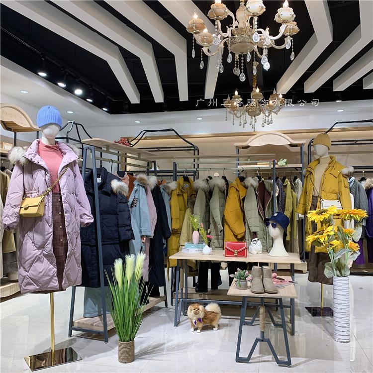 上海一线摩登品牌费依冬装女装折扣库存尾货山东折扣店进货渠道
