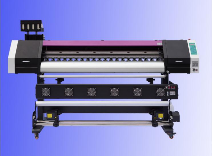 四喷头工业数码印花机