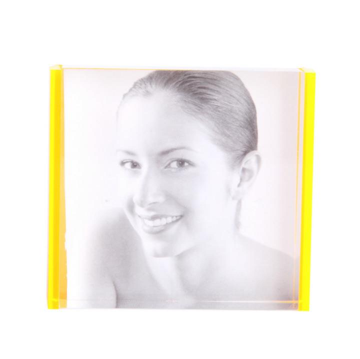 厂家直销荧光橙色相框 个性亚克力相框 个人写真婚纱照相框 创意简约相框 亚克力相框批发 亚克力相框供应商