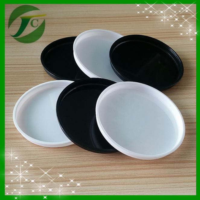 厂家大量供应 纸罐纸筒内塞盖 底塞塑料盖胶盖 圆形密封塞胶盖