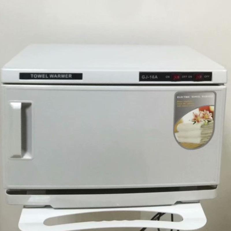 美容院紫外线毛巾加热消毒柜加热柜 湿毛巾加热柜 16L毛巾消毒箱