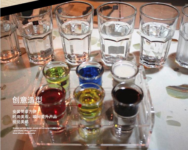 酒杯架  酒杯架 洋酒架 亚克力展架 广州亚克力定制 白云区定制工厂