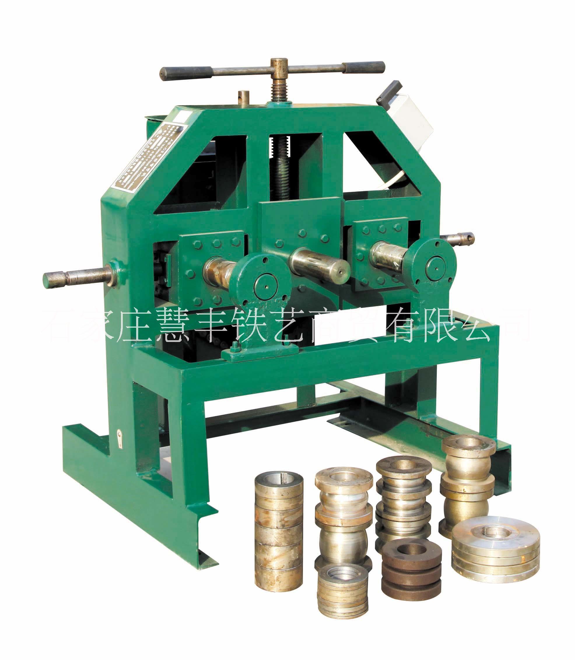 C2立式可调加强型电动弯管机,铁艺设备,铁艺机器
