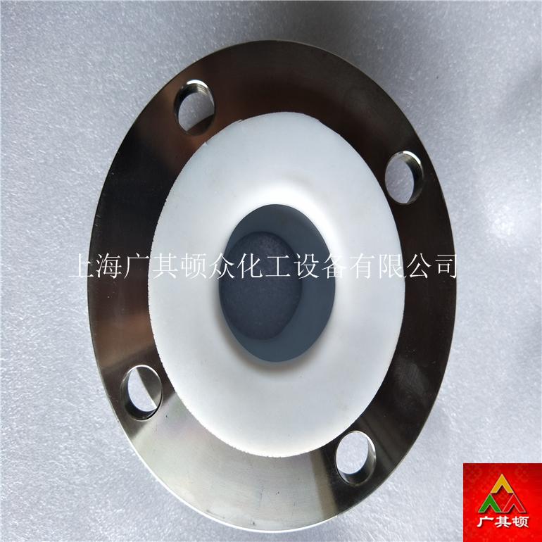 法兰式橡胶软接头衬四氟不锈钢/厂家直销