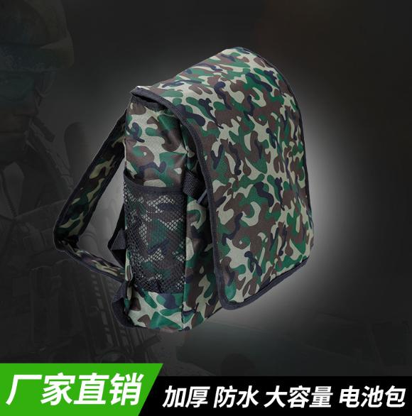 厂家直销 12V锂电池背包 迷彩锂电池背包 定制户外防水背包