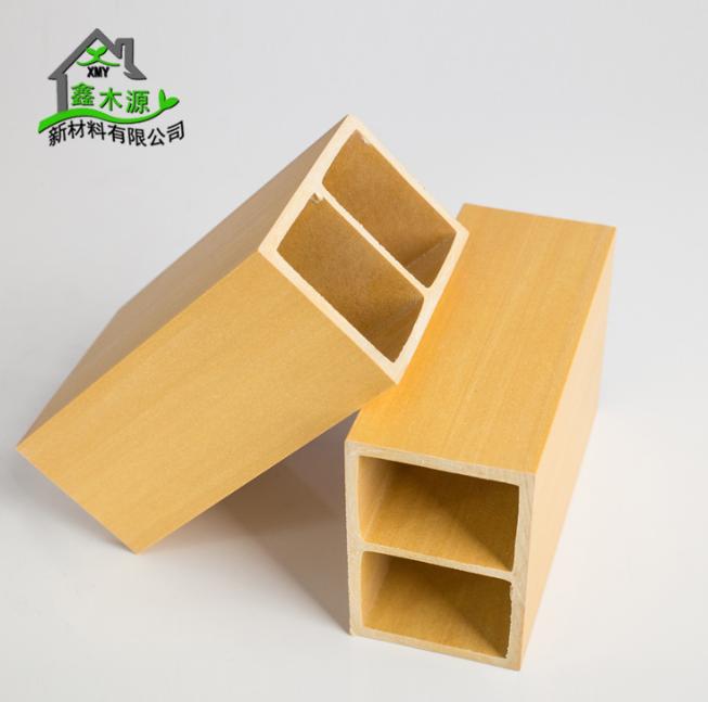 厂家直销生态木方通 室内装修新型装饰材料PVC木塑50*75方木