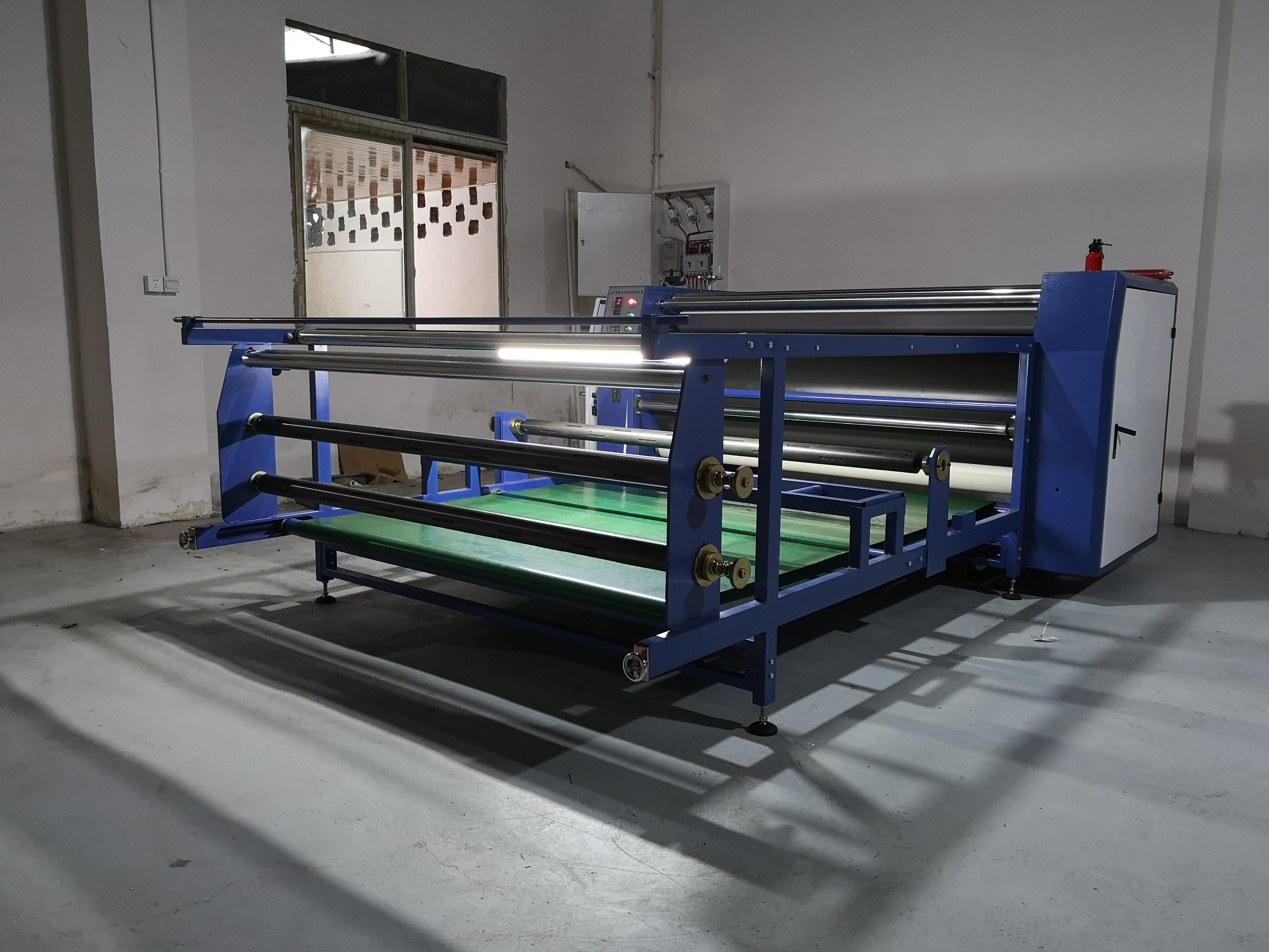 成都热升华滚筒印花机/大宽幅服装滚筒转印机