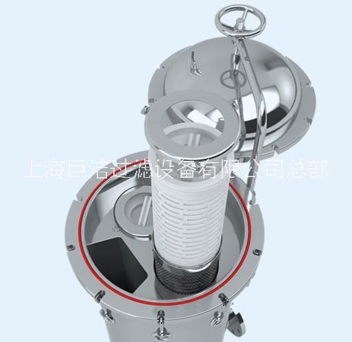厂家直销 大流量保安过滤器 不锈钢过滤器 滤芯式过滤器