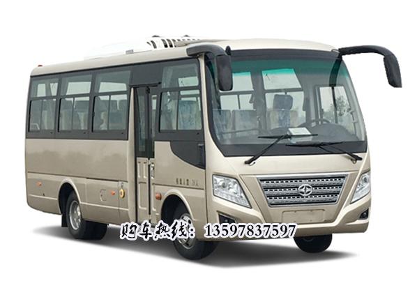 HM6670LFD5X型通勤客车 无锡华策6.7米通勤客车厂家