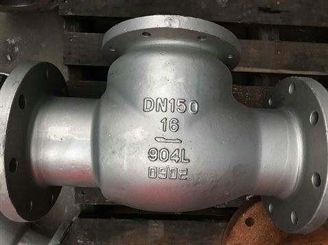 厂家直销 904L不锈钢止回阀 供应904L止回阀 不锈钢止回阀图片