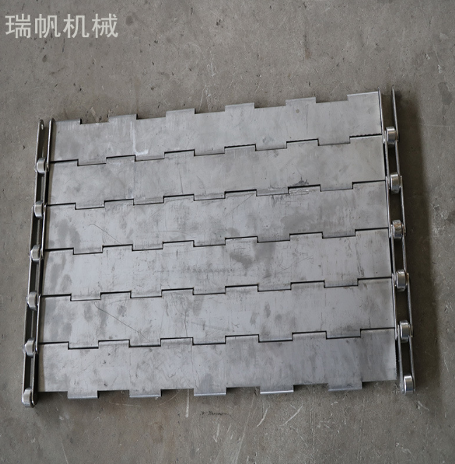 厂家直销输送链板定制304不锈钢食品生产线传动链板输送带板式链