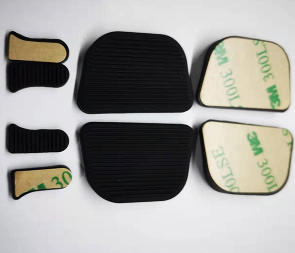 供应硫化热压无线充车载硅胶件 硅胶防滑垫