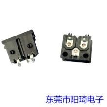 江苏ST-A04梅花插座丨梅花形AC插座加工丨米老鼠插座厂家丨三芯插座定制
