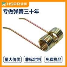 供应耐高温扭转弹簧 电风扇扭转弹簧 机械工具钢线材双向扭簧 灯具筒灯扭转弹簧 磷铜扭簧批发
