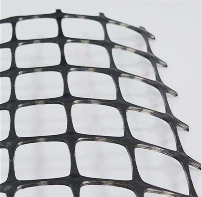 塑料土工格栅厂家直销-聚乙烯土工格栅15kn-50kn聚丙烯格栅