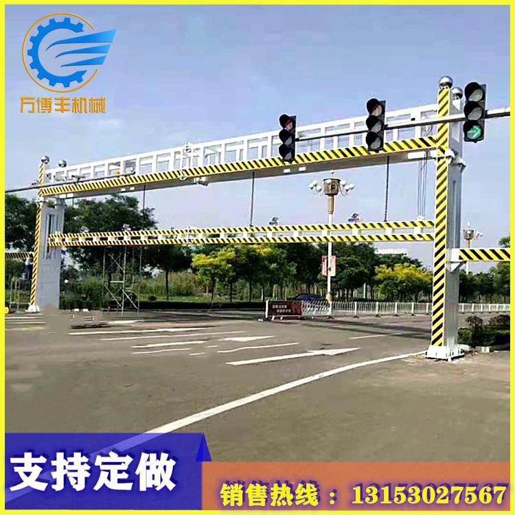 液压限高杆道路限高杆龙门架电动升降公路远程控制智能警示限高架限高架供应商