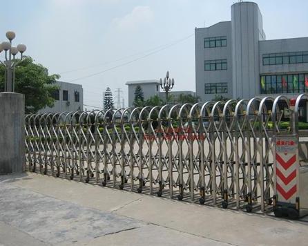 不锈钢伸缩门生产厂家-订做批发