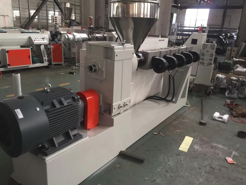 管材挤出机 PE管材生产线 PVC管材生产线 电力管生产线 定制管材生产线报价张家港智选机械