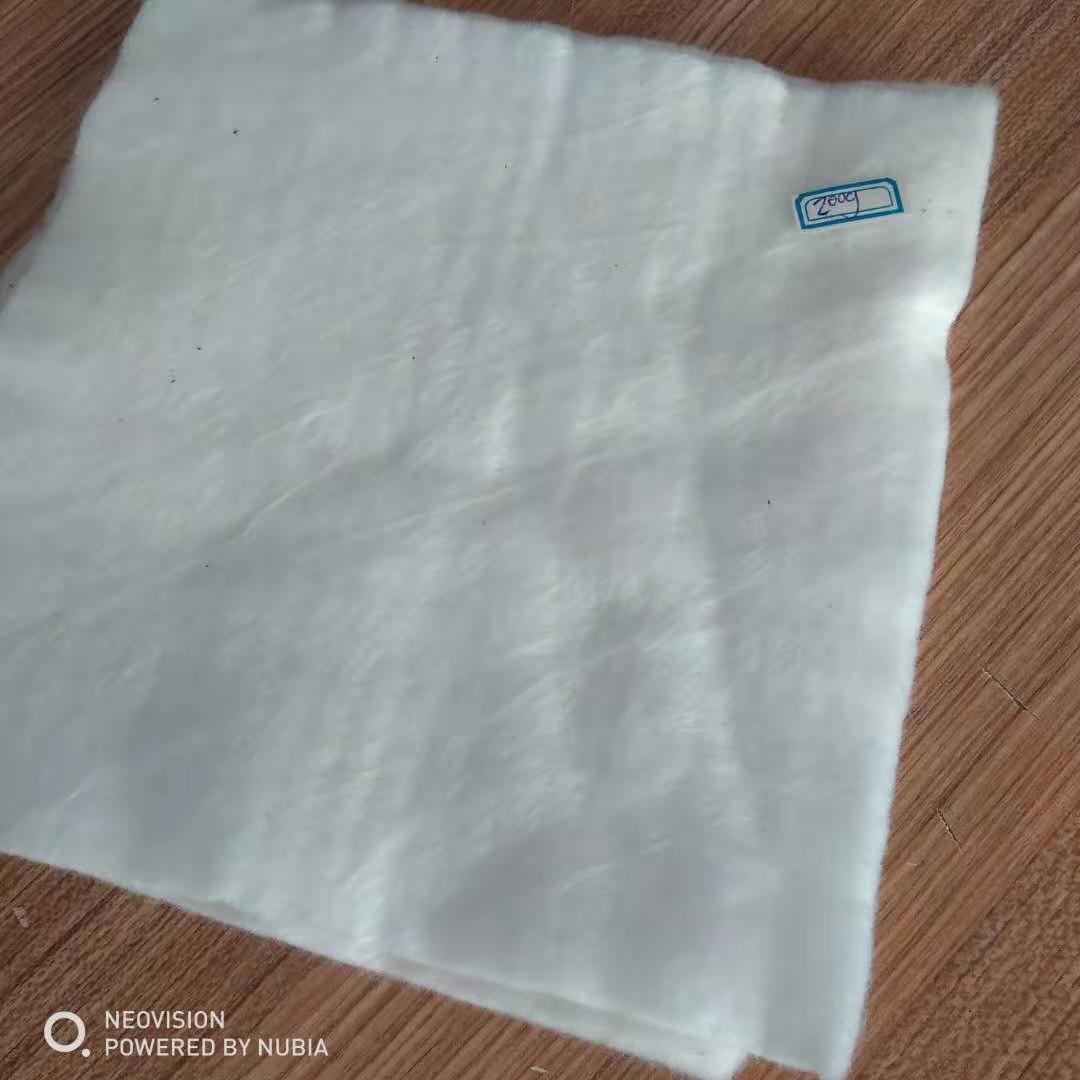 聚酯长丝土工布200g 边坡防护反滤长丝土工布定制生产