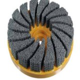 厂家直销杜邦磨料丝圆盘刷 猪鬃钢丝刷轮 尼龙钢丝刷轮厂家 刷子价格 猪鬃钢丝毛刷轮 圆盘刷 钢丝毛刷轮