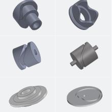 浙江来料来图凸轮加工生产厂家报价多少钱一只 圆柱凸轮加工